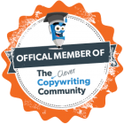 Official member of the Clever Copywriting School