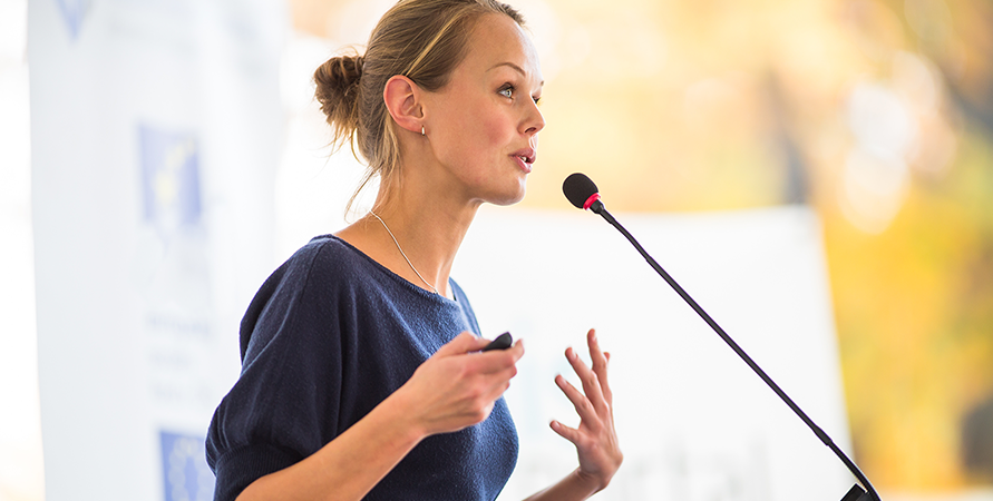 Tips for giving a great presentation